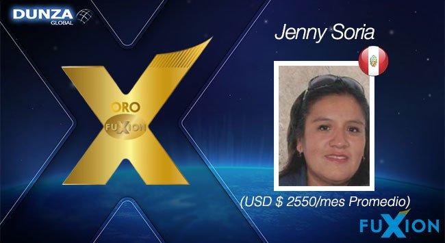 Jenny Soria - Oro FuXion-DunzaGlobal - DunzaGlobal.com