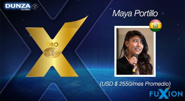 Maya Portillo - Oro FuXion-DunzaGlobal - DunzaGlobal.com