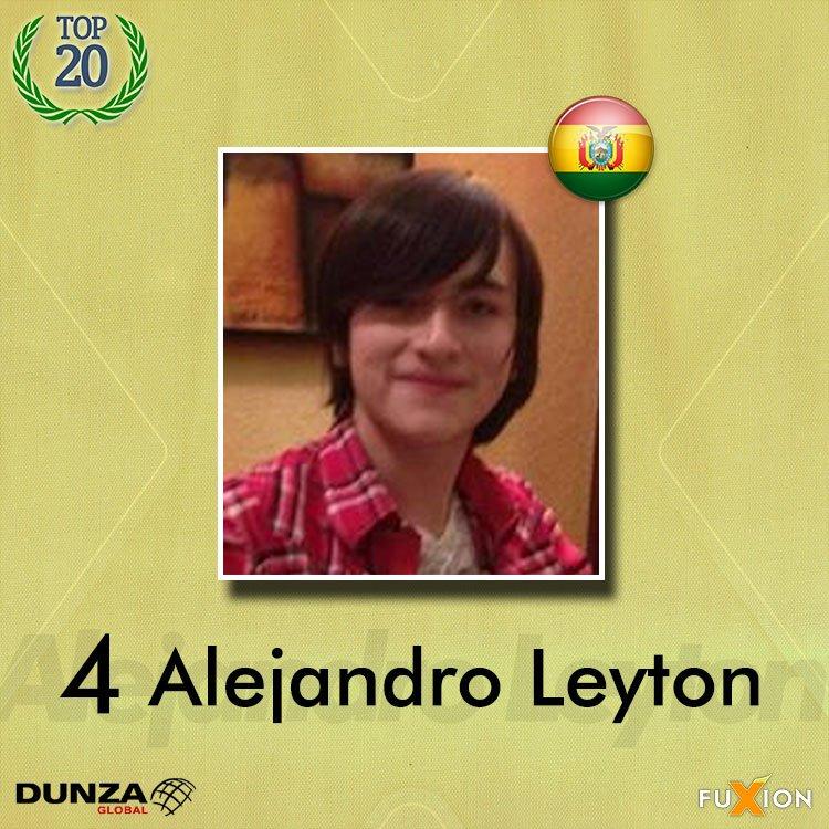 04. Alejandro Leyton - Bolivia - Top 10 - DunzaGobal Mundial - DunzaGlobal.com