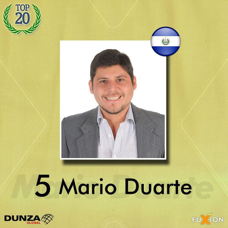 05. Mario Duarte - El Salvador - Top 10 - DunzaGobal Mundial - DunzaGlobal.com