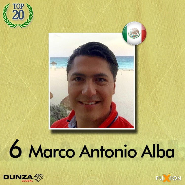 06. Marco Antonio Alba - México - Top 10 - DunzaGobal Mundial - DunzaGlobal.com