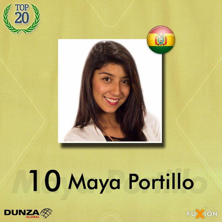 10. Maya Portillo - Bolivia - Top 10 - DunzaGobal Mundial - DunzaGlobal.com