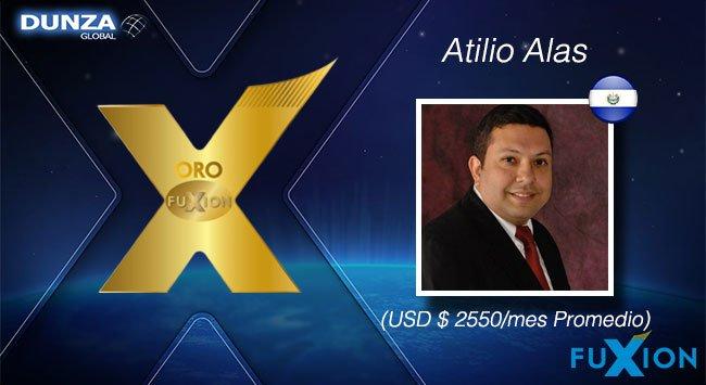 Atilio Alaz - El Salvador - Oro FuXion-DunzaGlobal - DunzaGlobal.com