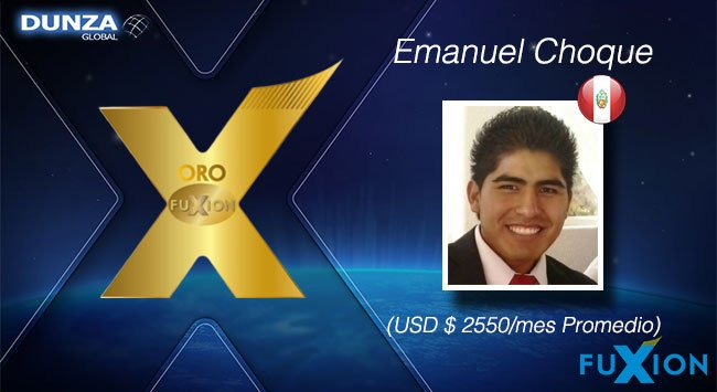Emanuel Choque - Perú - Oro FuXion-DunzaGlobal - DunzaGlobal.com