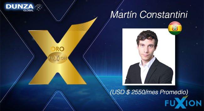 Martín Constantini - Bolivia - Oro FuXion-DunzaGlobal - DunzaGlobal.com
