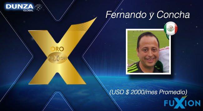 Fernando Mier y Concha Soto - México - Oro - DunzaGlobal - FuXion - DunzaGlobal.com