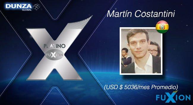 Martín Costantini - Bolivia - Platino - DunzaGlobal - FuXion - DunzaGlobal.com