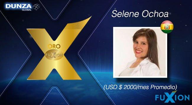 Selene Ochoa - Bolivia - Oro - DunzaGlobal - FuXion - DunzaGlobal.com