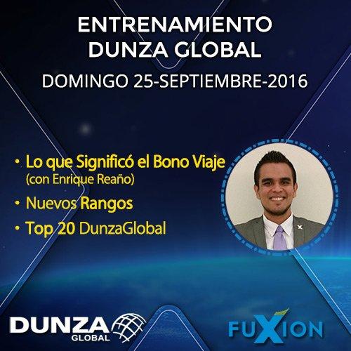 Lo Que Significó el Bono Viaje con Enrique Reaño (Platino) + Nuevos Rangos + TOP 20 - DunzaGlobal.com