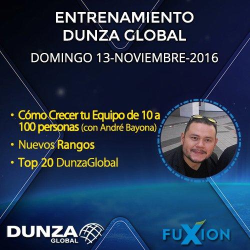 Cómo Crecer Tu Equipo de 10 a 100 Personas con André Bayona (Platino) + Nuevos Rangos + TOP 20 - DunzaGlobal.com